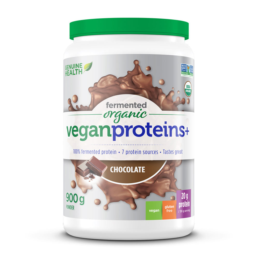 : Fermented Organic Vegan Proteins+