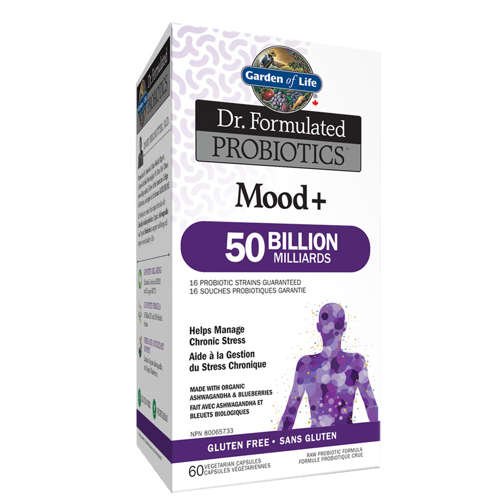 : Garden of Life Dr. Formulated Once Daily Mood+ 50B Probiotics
