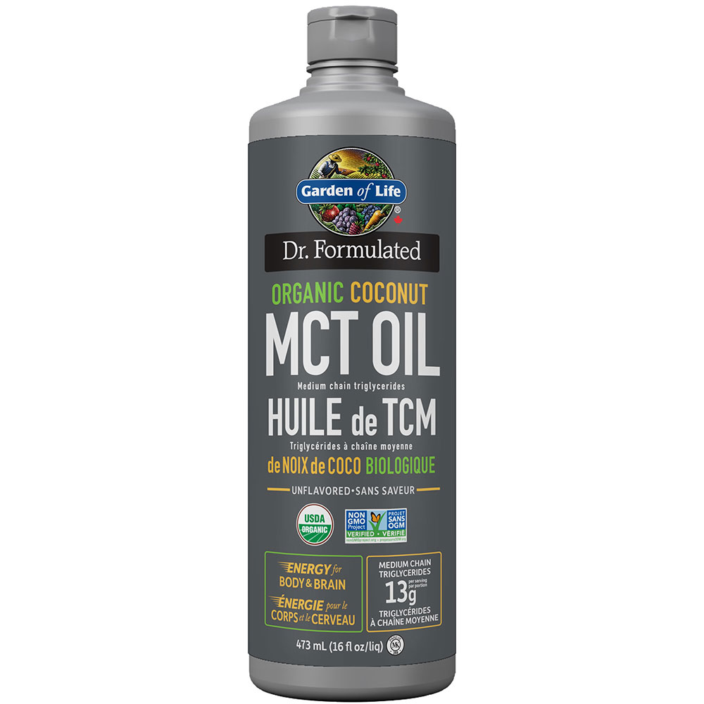 : Garden of Life Dr. Formulated Organic MCT Oil 473ml