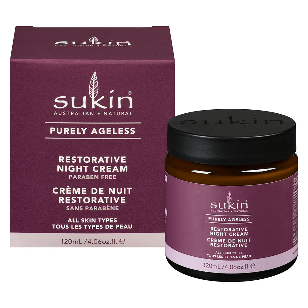 : Sukin Purely Ageless Restorative Night Cream 120ml